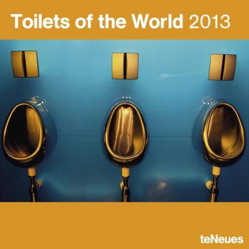 Der Kalender ist für'n Arsch: Toilets of the World 2013 @Amazon