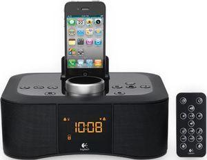 Logitech Dock S400i Uhrenradio (Schwarz) mit Fernbedienung via Paypal Zahlung für 34,95€ bei Conrad.de