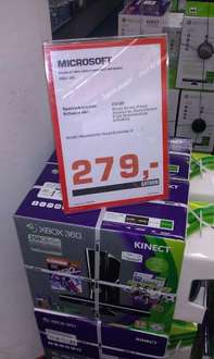 (LOKAL Saturn Erfurt) XBOX 360 Kinect / 250 GB + Kinect Sports und Wireless Controller