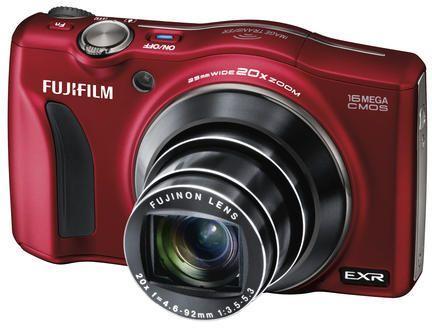 [Amazon UK] Fuji Finepix F800EXR in Rot, 16MP CMOS, 25-500mm, Wlan