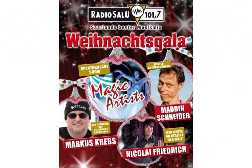 2 Tickets (83€, PK1) für Weihnachtsgala Radio Salü (Saarbrücken)  @Salübonus