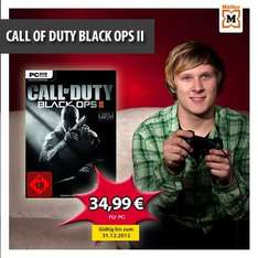Call of Duty Black Ops 2 im Müller for 34,99€ (PC)