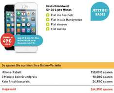 Iphone 5 inkl. Base All-In für 649,-