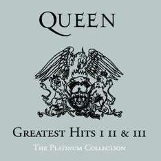 [Amazon.com-MP3] Queen - Greatest Hits 1,2 und 3 als Compilation für 4,50€ *Update: Rollings Stones - Grrr!, The Who Ultimate Collection*