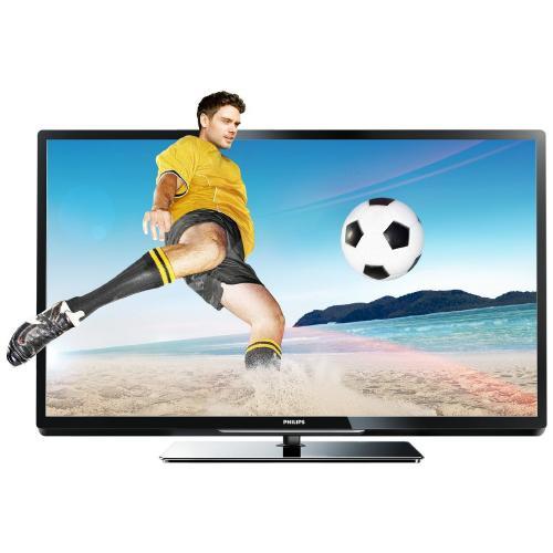 Philips 42PFL4307K 107 cm (42 Zoll) 3D LED-Backlight-Fernseher, Energieeffizienzklasse A+ (Full-HD, 200Hz PMR, DVB-T/C/S2, CI+, SmartTV, WiFi ready, USB Recording) schwarz