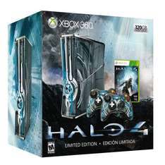 [Amazon.es] XBOX 360 Halo Edition 320 GB+ Game + 2 Controller alternativ Star-Wars-Edition inkl. Kinect mit Lieferzeit für 291,16 €, alternativ günstige Slim Arcade Version 4 GB für 136,-