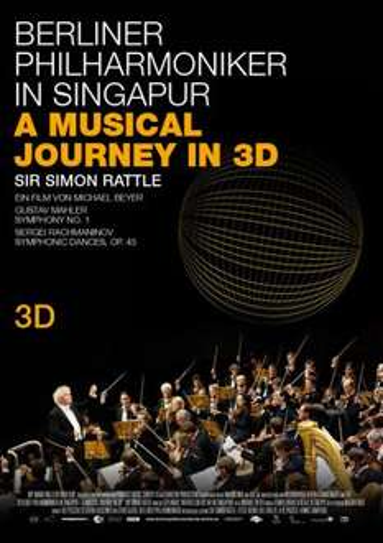 VOD heute kostenlos für o2/Alice Kunden Berliner Philharmoniker in Singapur - A Musical Journey in 3D