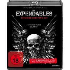 Amazon.de | The Expendables - Extended [Blu-ray] [Director's Cut] um 9,99€ statt 11,99€