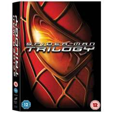 Spider-Man Trilogy Blu-Ray £7.99 @ amazon UK
