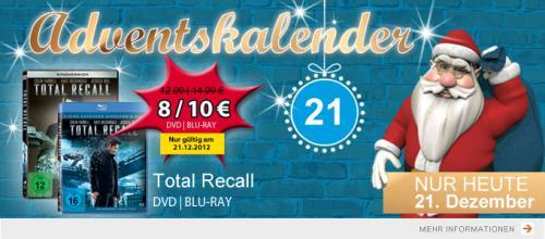 Total Recall (Remake) DVD/BD Müller ab 8€