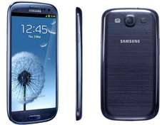 Samsung Galaxy S3 in Blau bei Mediamarkt in Berlin für 399,-