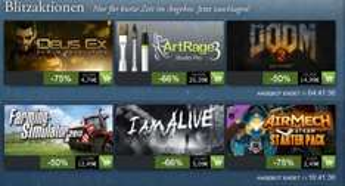 [Steam] Blitzsales u. a. Deus Ex: Human Revolution für 4,74€