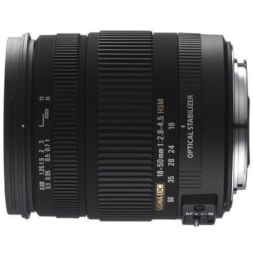 Sigma Objektiv AF 18-50mm / F2,8-4,5 DC OS HSM für Canon