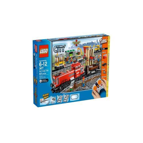 Lego 3677 - City: Güterzug mit Diesellokomotive für 99,99€