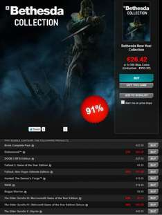 Bethesda New Year Collection €24 @GamersGate