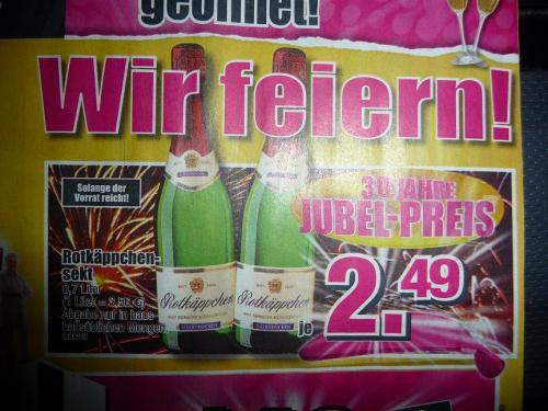 (offline) SB Möbel Boss : Rotkäppchen Sekt  für 2,49 € je 0,7 Liter Flasche