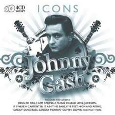 (UK) Johnny Cash - Icons [4 x CD] für 5.95€ @ Play (AllYourMusic)