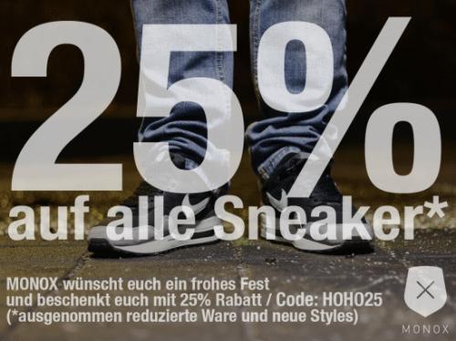 Sneaker 25% günstiger z.B. Nike Air Max 1 für 104,25€ statt 139,00€