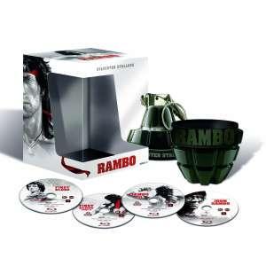 """(UK) Rambo Quadrologie Special Collectors """"Granate"""" Edition  (4 x Blu-ray) für 30.59€ @ Zavvi"""