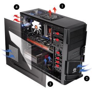 [Update: wieder lieferbar] Sofortüberweisung: Thermaltake Commander PC Gehäuse mit USB 3.0 für knapp 32 Euro