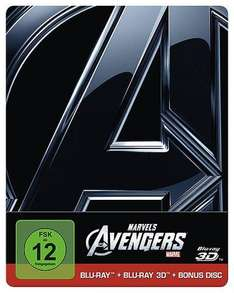 [LOKAL Dresden]: Marvel's The Avengers 3D Steelbook 15€ im Hugendubel