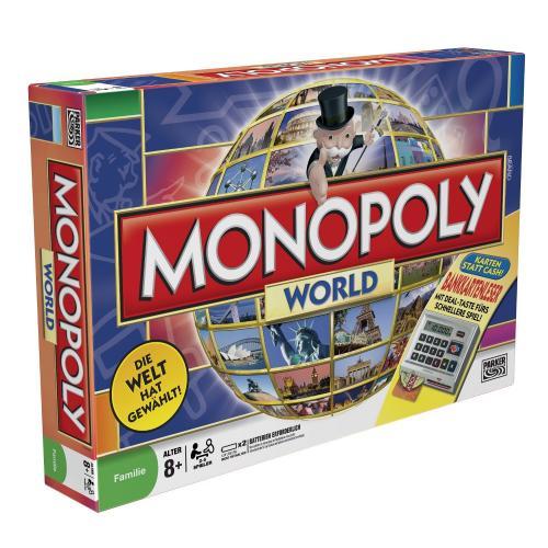 Monopoly World (mit Kartenleser) für 29,99€ bei Amazon