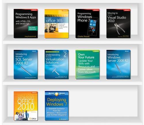 Kostenlose Ebooks von Microsoft