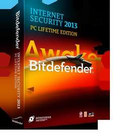 Bitdefender Internet Security 2013 (PC Lifetime Edition, 1 PC)
