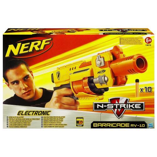Nerf N-Strike Barricade RV-10 batteriebetriebener Soft Dart Blaster für 16,89€ @ Amazon Marketplace