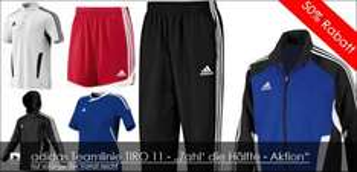 Adidas Teamlinie TIRO 11 - 50% Rabatt