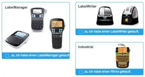 [DYMO ;)]30% Cashback auf ausgewählte Geräte