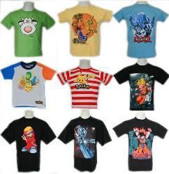 Kinder/Herren T-Shirts mit Dragonball, Yu-Gi-Oh, Silver Surfer, Pokemon, ... für 4,99€ inkl. Versand aus Deutschland @eBay