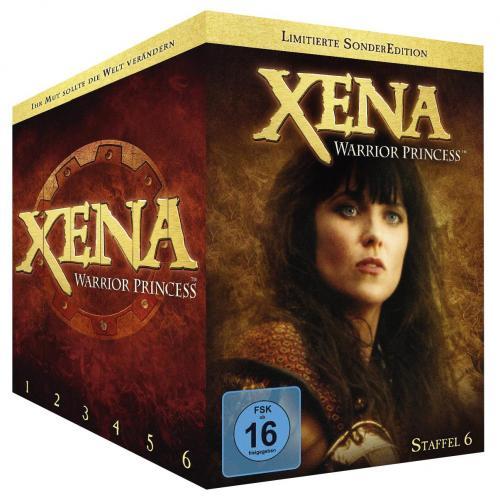 Xena: Warrior Princess Die komplette Serie - Staffel 1- 6 (38DVDs) für 66,28€ @emp.de