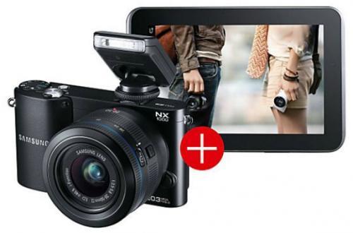 Samsung NX1000 Bundle inkl. Samsung Galaxy Tab 2 (weiß oder schwarz) für 444€ @Saturn.de & Amazon