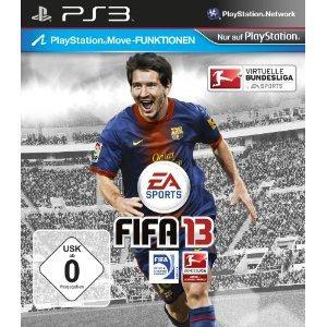 [amazon.de] FIFA 13 für PS3/XBOX360 für 37,97 (inkl. Versand)