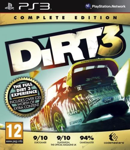 PS3 - Dirt 3 (Complete Edition) für €10,83 [@TheHut.com]