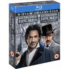 Blu-Ray - The Sherlock Holmes Collection 1&2 (2 Discs) für €11,41 [@WowHD.co.uk]