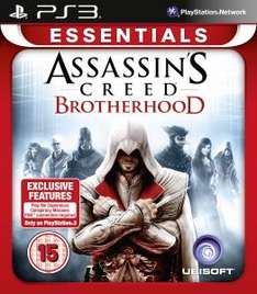 (UK) Assassin's Creed: Brotherhood Essentials [PS3] für umgerechnet ca. 10.80€ @ TheHut x09