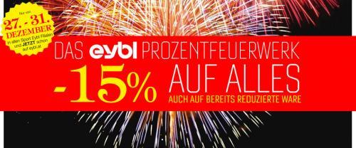 Sport Eybl: Minus 15% auf ALLES