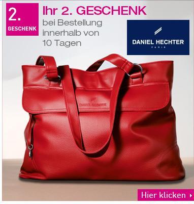 Pierre Ricaud: Kosmetik für 15,- Euro kaufen + gratis Daniel Hechter Tasche + Anti-Faltencreme + Achat-Kette gratis, versandkostenfrei
