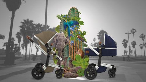 Joolz Day Earth Kinderwagen mit Fußsack
