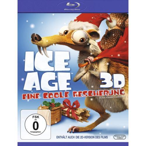 Wieder da: Ice Age Special: Ein coole Bescherung [3D Blu-ray] für 7,99€ @AMAZON.DE