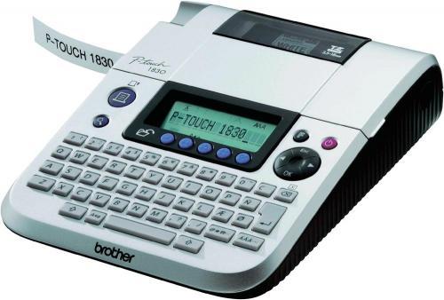 Brother P-touch 1830 VP Beschriftungsgerät für 3,5 - 18 mm mit Koffer + NT @ Voelkner