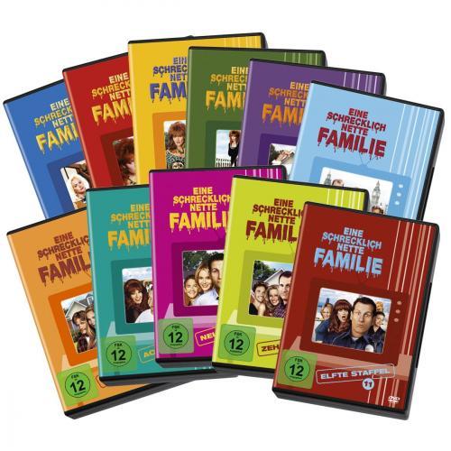 Eine schrecklich nette Familie - Staffel 1-11 Komplett - Set [33 DVDs] @emp.de