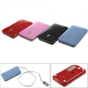 Portable Slim 800dpi USB 3-Tasten-Maus für 2,69€