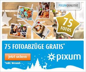75 Fotos Gratis bei pixum / 100 Fotos Gratis bei Fujidirekt / 150 Fotos Gratis bei Photobox