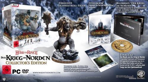 [PS3/PC] Herr der Ringe: Krieg im Norden Collector's Edition für nur 27 Pfund  @Amazon.co.uk