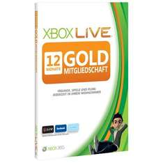 12 Monate Xbox Live Gold-Mitgliedschaft - 24h-Deal