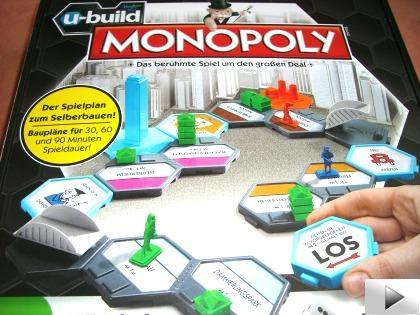 MONOPOLY U-Build von Hasbro (27% Ersparnis)