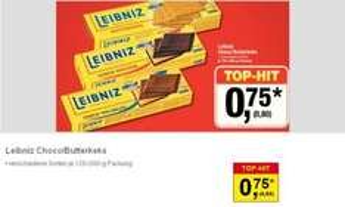 (evlt. lokal) Leibniz Choco & Butterkeks ab 02.01.13 in der Metro